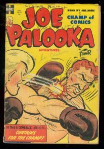 JOE PALOOKA #79 1953-HARVEY COMICS-HAM FISHER-BOXING CV G/VG
