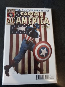 CAPTAIN AMERICA #616 70TH ANNIVERSARY ISSUE OVER-SIZED NM