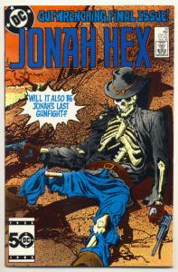 JONAH HEX #92, VF/NM, Gray Morrow, 1977 1985, Last issue, more JH in store