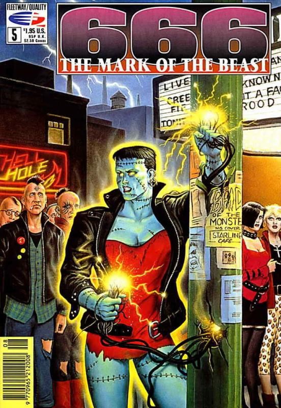 666: The Mark of the Beast #5 VF; Fleetway Quality | save on shipping - details