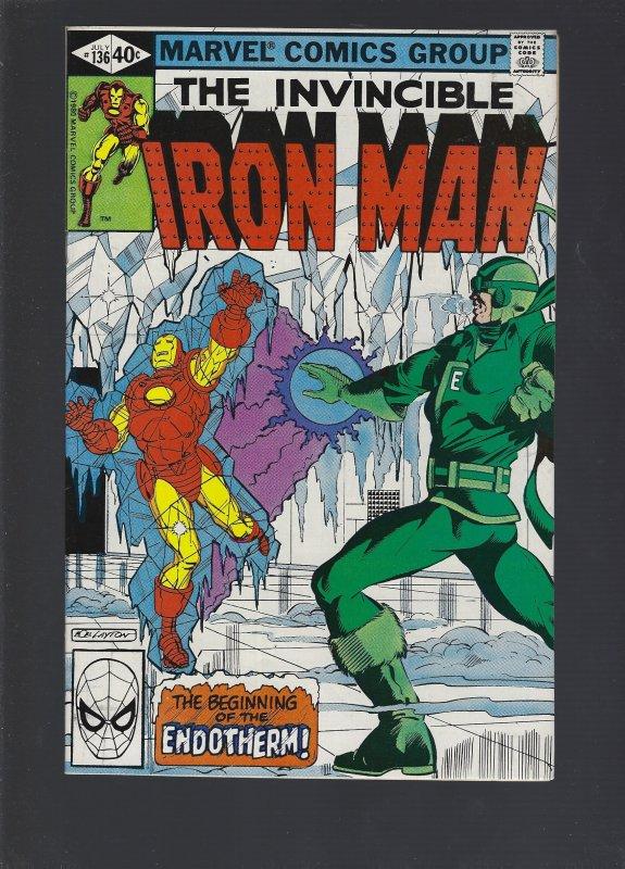 Iron Man #136 (1980)
