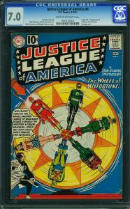 Justice League of America #6 (DC, 1961) CGC 7.0 - KEY