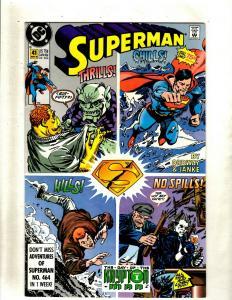 Lot of 8 Superman DC Comics Comic Books #41 42 74 75 76 77 78 82  HY3