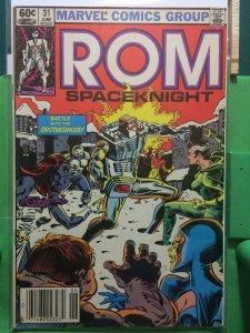 Rom Spaceknight #31 vs The Brotherhood of Evil Mutants