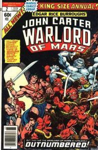 John Carter: Warlord of Mars (1977 series) Annual #2, VF- (Stock photo)