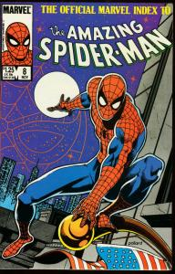OFFICIAL MARVEL INDEX TO AMAZING SPIDER-MAN #8 VF