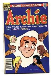 Archie Comics #331 1984- Wild disembodied head cover-Ice cream cone VF+