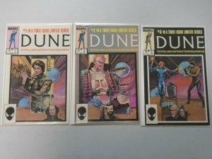 Dune set #1-3 Direct edition 8.0 VF (1985)
