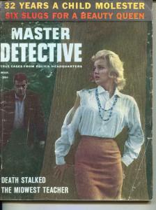 Master Detective-3/63-Jewel Thief-Stalker-Death-VG