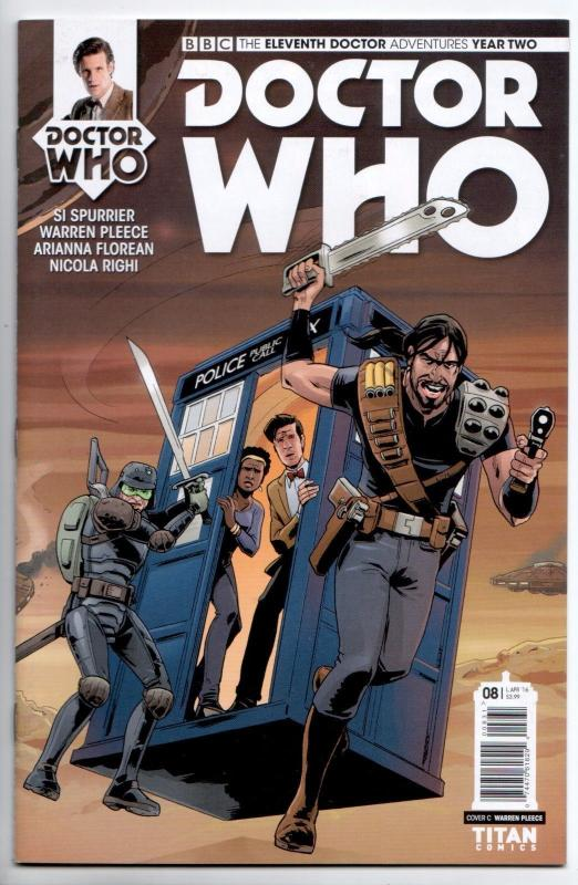Doctor Who Eleventh Doctor Year Two #8 Cvr C (Titan, 2016) VF/NM