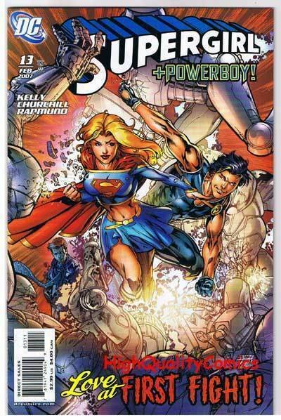 SUPERGIRL #13, NM+, PowerBoy, Churchill, 2005, more in store