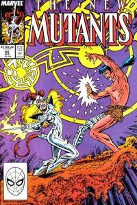 New Mutants (1983 series) #66, VF (Stock photo)