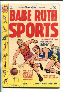 BABE RUTH SPORTS #1-1949-BABE ZAHARIAS-OLYMPICS-SOUTHERN STATES PEDIGREE-fn-
