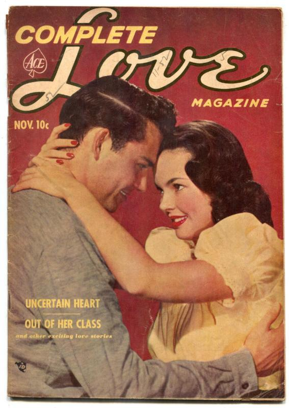 Complete Love Magazine Vol. 27 #5 1952-Canadian edition VG