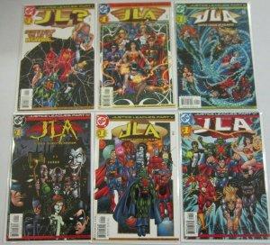 Justice Leagues set:#1-6 NM (2001)