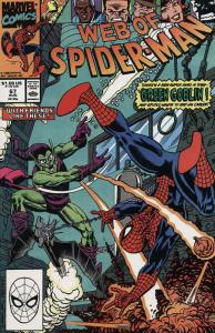 Web of Spider-Man, The #67 VF/NM; Marvel | save on shipping - details inside
