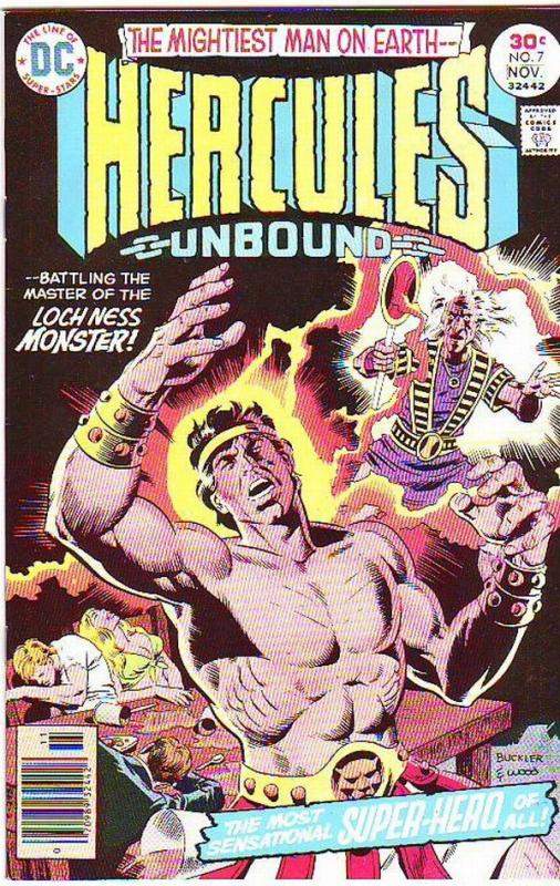 Hercules Unbound #7 (Nov-76) NM Super-High-Grade Hercules