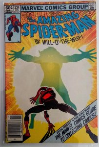 The Amazing Spider-Man #234 Newsstand (FN+)(1982)