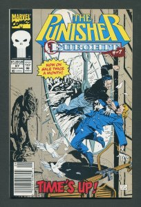 Punisher #67  /  9.4 NM - 9.6 NM+  Newsstand   August 1992