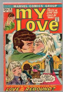 MY LOVE (1969-1976) 18 GD+ July 1972