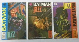 Batman Jazz set:#1-3 8.0 VF (1995)