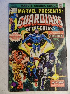 MARVEL PRESENTS # 3 GUARDIANS OF THE GALAXY 1ST APP IN SERIES MOVIE NO MVS