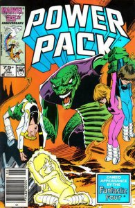 Power Pack #23 (Newsstand) VG; Marvel | low grade comic - save on shipping - det