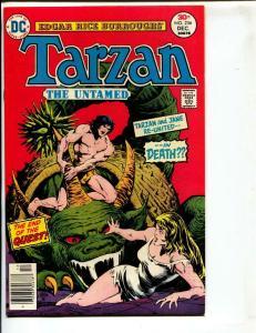 Tarzan-#256-1976-DC-BRONZE-AGE-Joe Kubert-NM-