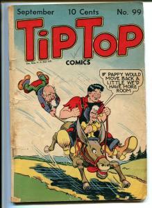 TIP TOP #99 1944-UNITED FEATURES-BUSHMILLER-NANCY-GORDO-LI'L ABNER-GORDO-good