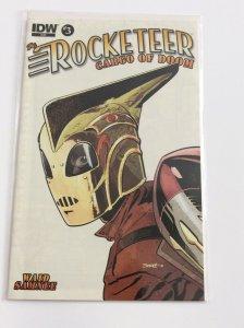 Rocketeer Cargo of Doom #3 Near Mint.