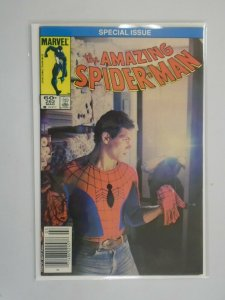 Amazing Spider-Man #262 Newsstand edition 6.0 FN (1985 1st Series)