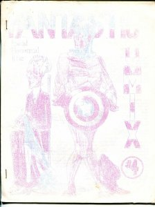 Fantasticomix #4 1975-Scott Paauw-Silver Surfer-Atlas comics-mimeo zine-VG
