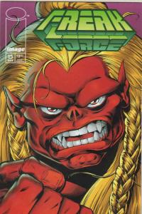 Freak Force #15 VF/NM; Image   save on shipping - details inside