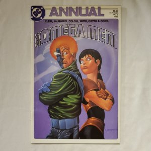 Omega Men Annual 2 Very Fine/Near Mint Cover by Shawn McManus