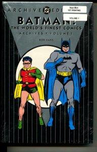 Batman: The World's Finest Comics 1 hardcover- sealed