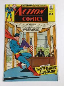 Action Comics 390 6.0 Fn Fine Dc Bronze Age