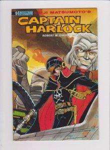 CAPTAIN HARLOCK #9, VF/NM, Matsumoto, Eternity,1989,1990, more in store
