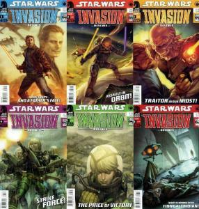 STAR WARS INVASION RESCUES (2010 DH) 1-6