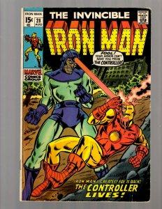 Invincible Iron Man # 28 FN Marvel Comic Book Avengers Hulk Thor Captain Ame JK7
