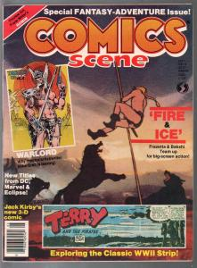 Comics Scene #9 1983-Frazetta Fire & Ice-Jack Kirby-3-D Comics-FN