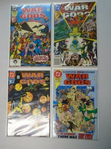War of the Gods set #1-4 8.0 VF No poster in #2+3 (1991)