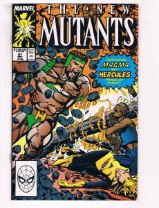 The New Mutants #81 VF Marvel Comics Comic Book X Men Nov 1989 DE24