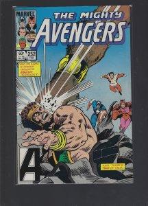 The Avengers #252 (1985)