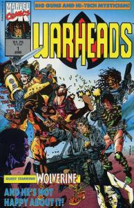 WARHEADS 1-2 MARVEL UK/ USA - Wolverine, Fury, SHIELD