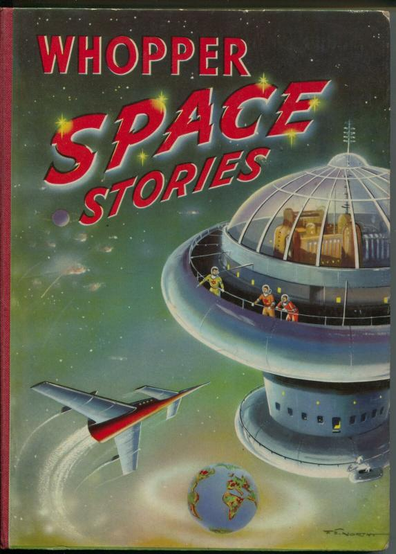 Whopper Space Stories 1954-Rex Strong : Space Ace-comics-pulp stories-VG+