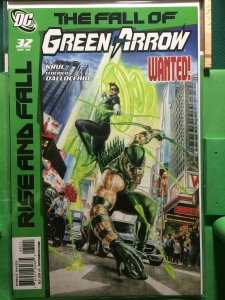 Green Arrow #32 Rise and Fall