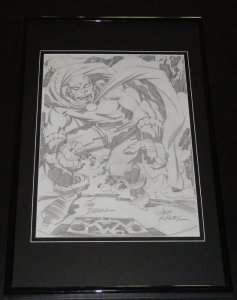 The Demon Framed 11x17 Photo Display Official Repro Jack Kirby