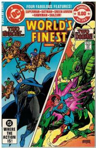 WORLDS FINEST 282 VF-NM $1 COVER GIANTS Aug. 1982 COMICS BOOK