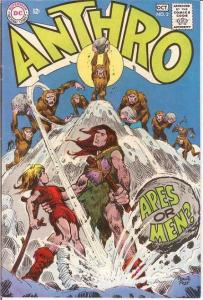 ANTHRO (1968) 2 F-VF Sep.-Oct. 1968 COMICS BOOK