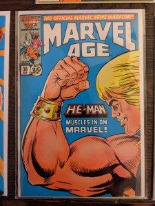 Marvel Age #38 (1986)
